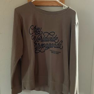 Obey Brown Sweater